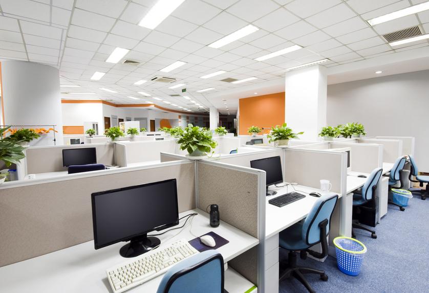 kebersihan ruang kerja